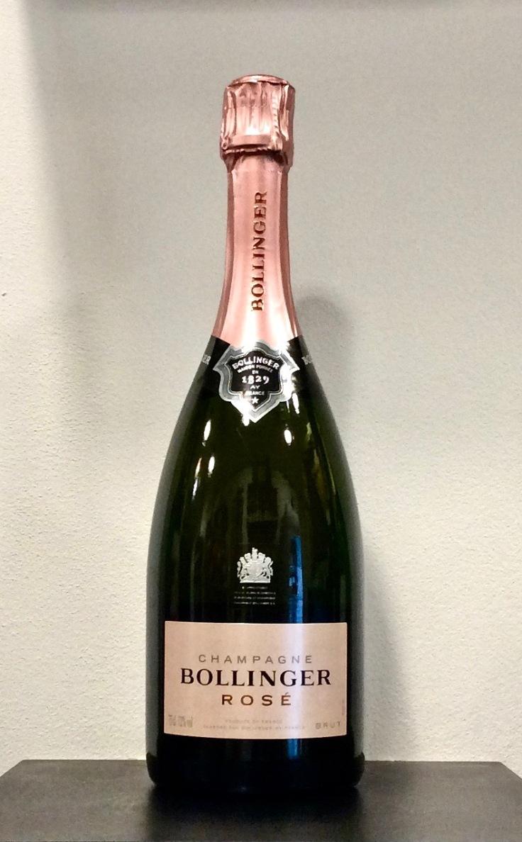 ©lacavedestephane Champagne Bollinger, cuvée Brut Rosé