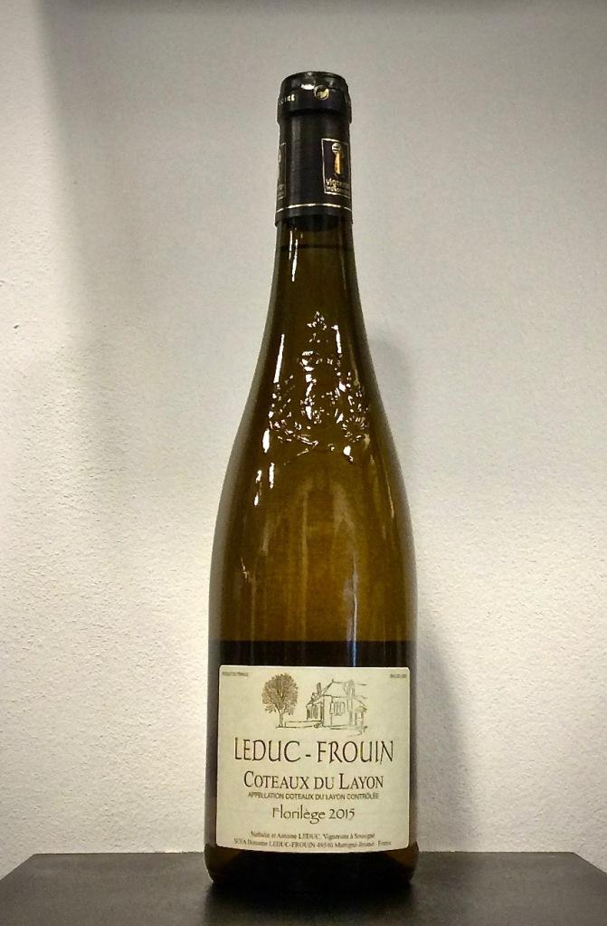 ©lacavedestephane Domaine Leduc-Frouin, cuvée Florilège - Coteaux du Layon