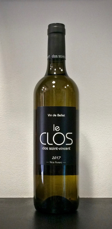 ©lacavedestephane Clos Saint Vincent, cuvée Le Clos - Bellet - Blanc - 2017